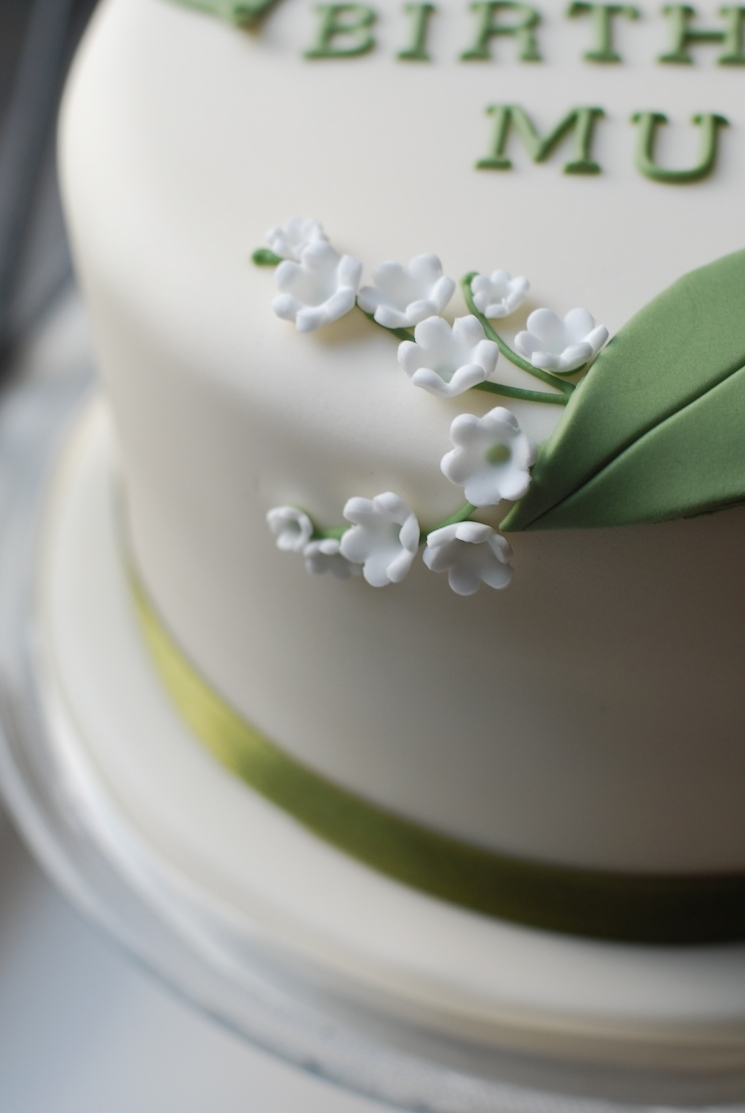 Lily Of The Valley Cake Afternoon Crumbs