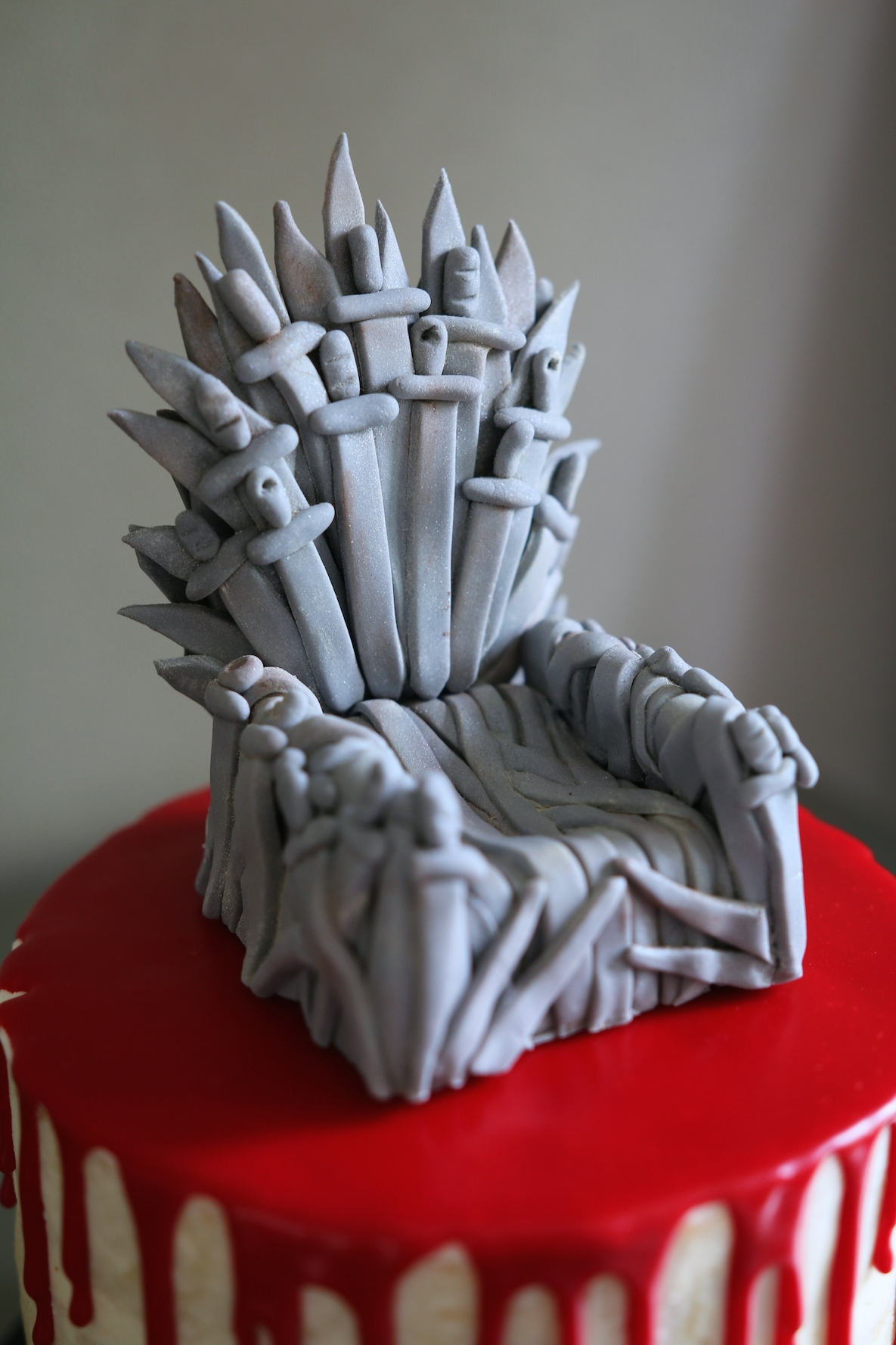 Game of thrones chair cake - Got_02 Got_03 Got_04