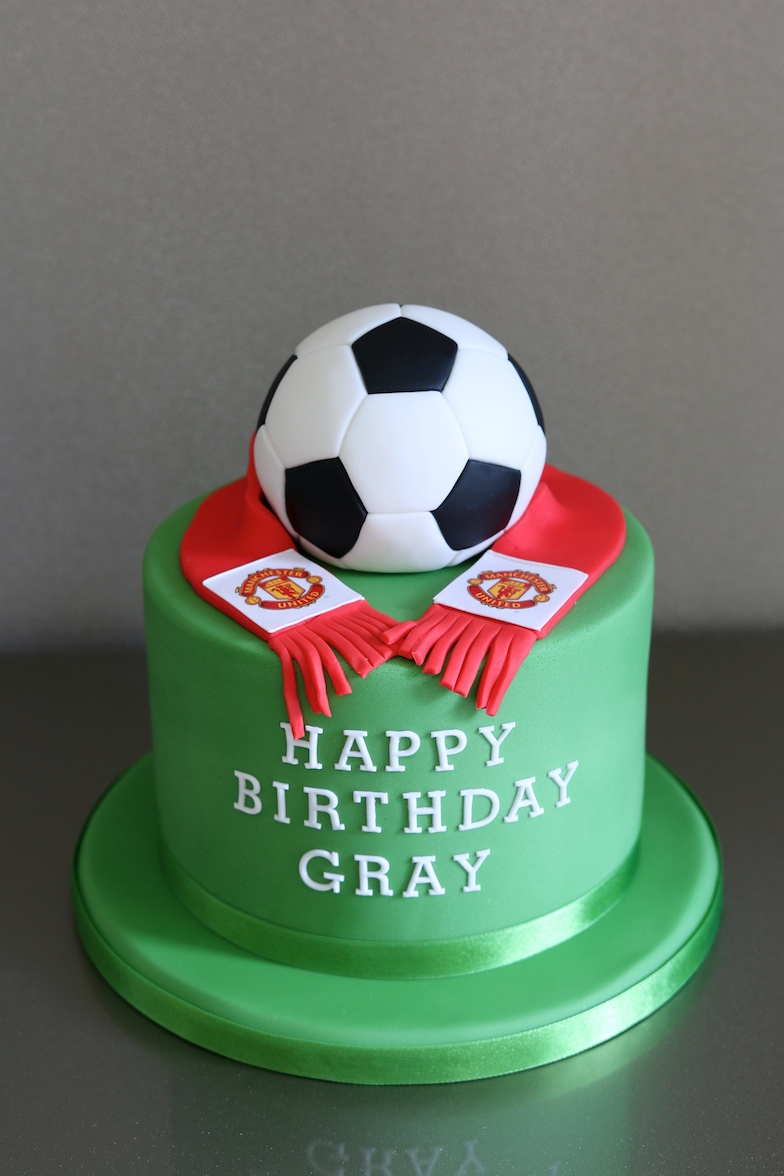 Football Cake Afternoon Crumbs